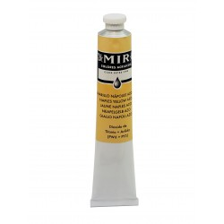 MIR Acrylic Creamy tube 60ml. NAPLES YELLOW AZO