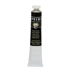 *MIR Acrylic Creamy tube 60ml. OLIVE GREEN