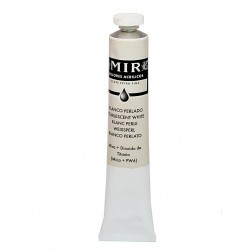 *MIR Acrylic Creamy tube 60ml. PEARL WHITE