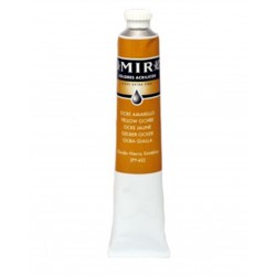 MIR Acrylic Creamy tube 60ml. YELLOW OCHRE