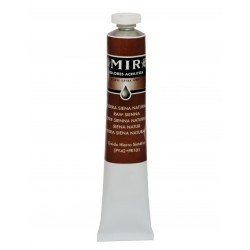 MIR Acrylic Creamy tube 60ml. RAW SIENNA