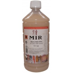 MIR 1000 ml. MATT VARNISH OIL