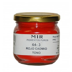 Pure Powdered Pigments MIR 150ml CADMIUM RED HUE