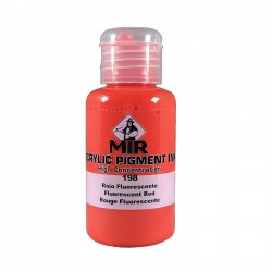 FLUORESCENT RED MIR Acrylic...